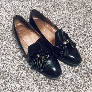 Jeffrey Campbell Patent Leather Black Loafers